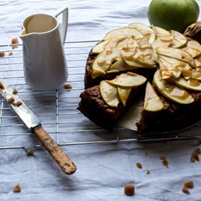 Toffee Apple and Cyder Cake