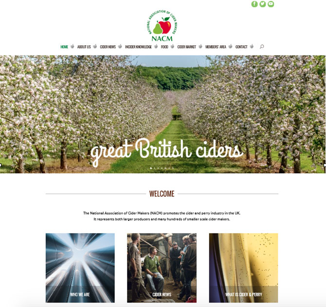 New cider industry website showcases the skill, heritage and diversity of UK cider makers