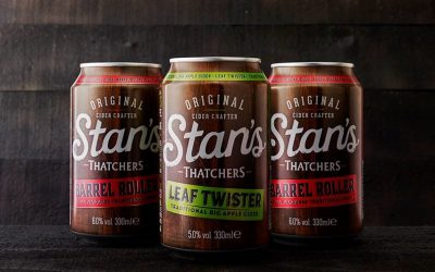 Thatchers unveils Stan's – a new name for its traditional Cider range