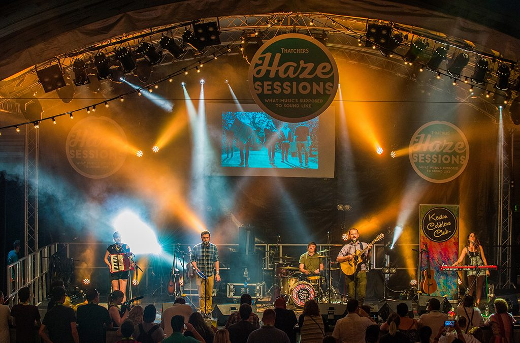 Thatchers Haze Sessions takes to the stage for a second year to showcase rising starts