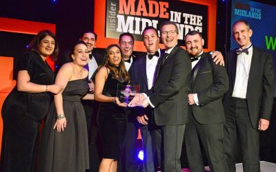 Aston Manor Cider win best Food and Drink Manufacturer award