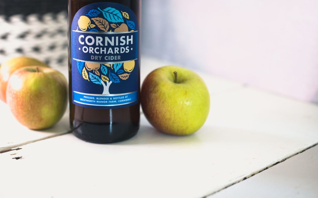 INTRODUCING THE NEW CORNISH ORCHARDS DRY CIDER