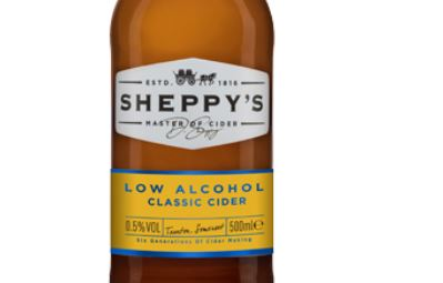 Sheppy's launch low alcohol cider