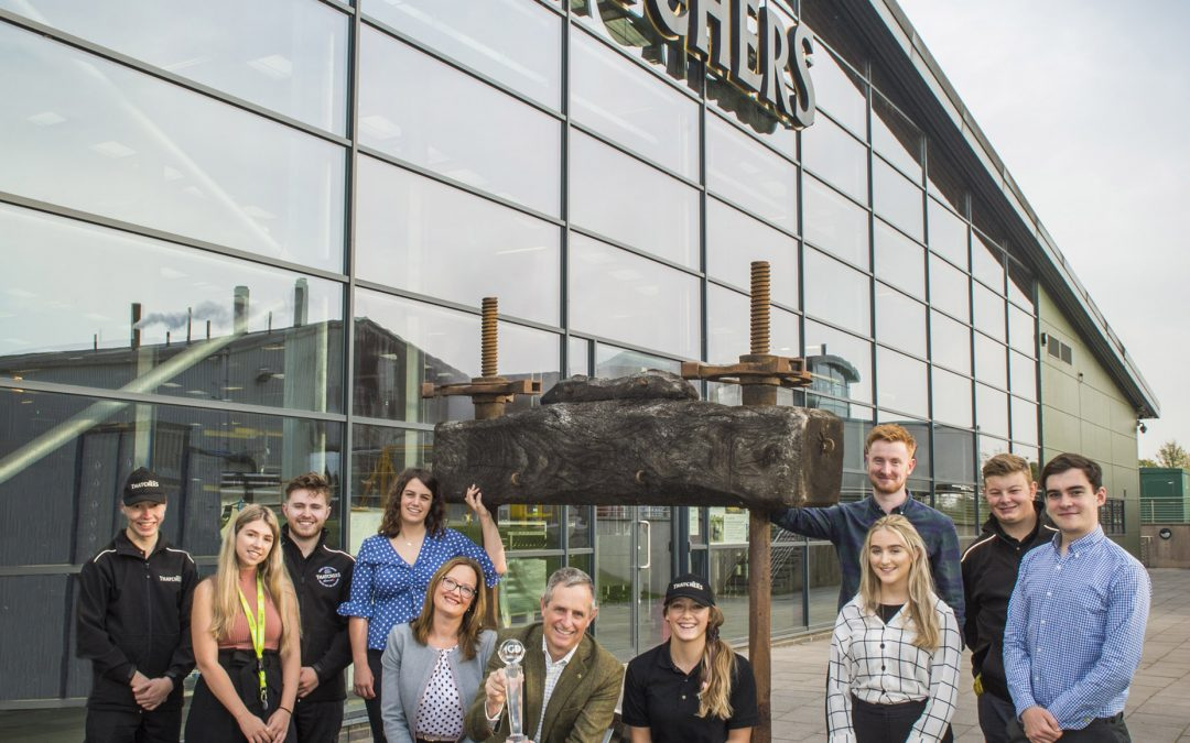 THATCHERS SCOOPS NATIONAL AWARD FOR ITS YOUNG TALENT PROGRAMME
