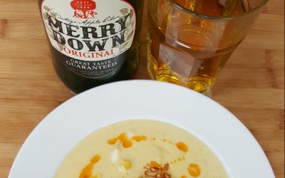 Fish Chowder with Merrydown Vintage