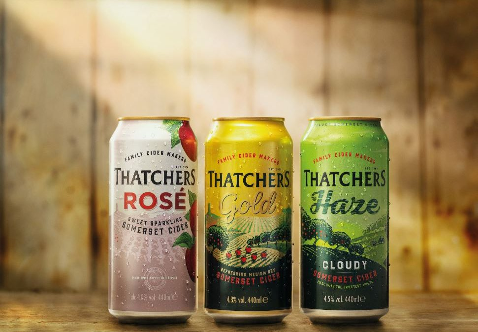 Thatchers introduces lighter weight cans