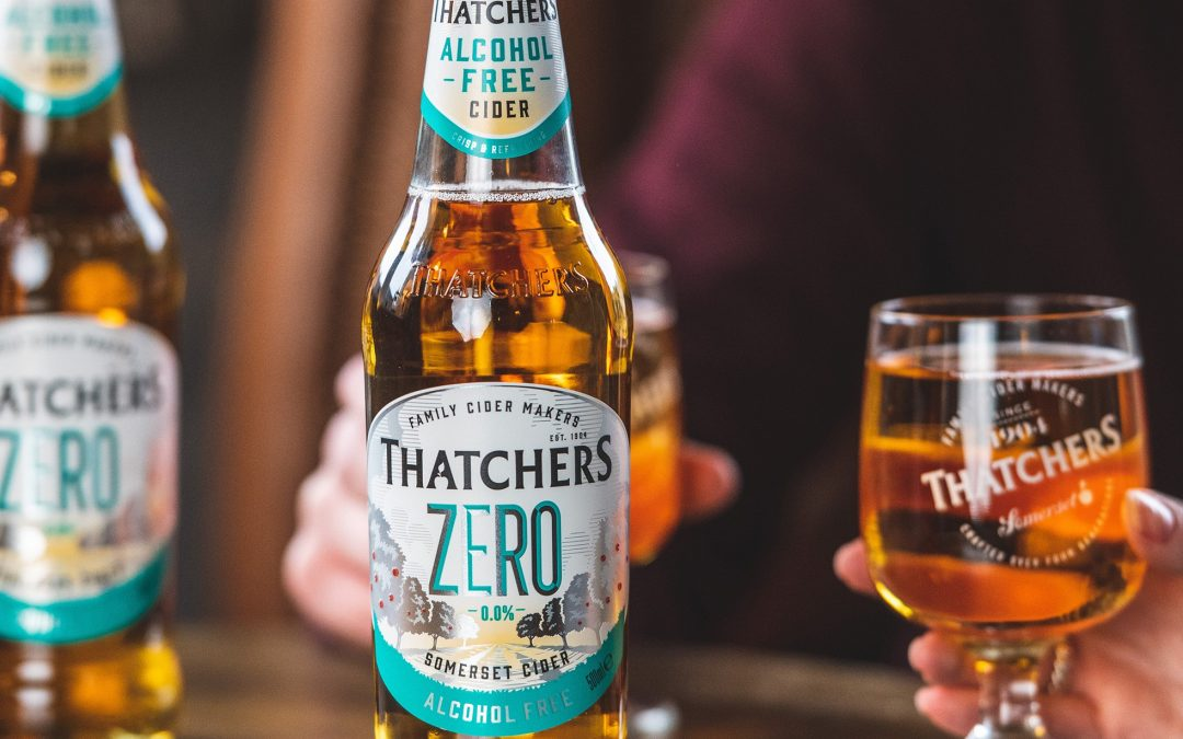 THATCHERS INTRODUCES ITS ALCOHOL-FREE CIDER, ZERO