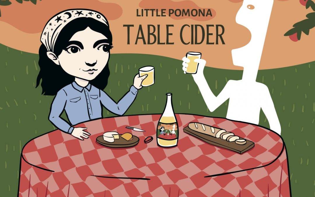 Little Pomona Heads Straight for the Table