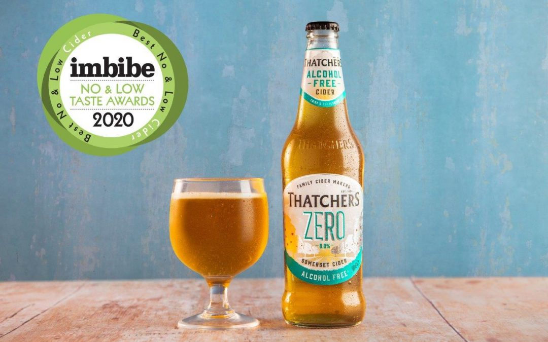 Thatchers Zero named Best No and Low Cider