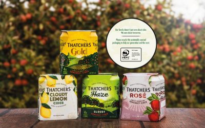 THATCHERS SAVED 20 MILLION PLASTIC RINGS IN JUST ONE YEAR