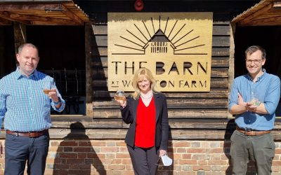 Local MP Shows Support for Kentish Pip Cider
