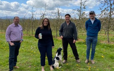 Fay Jones MP Shows Support for Cider Makers
