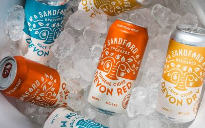 SANDFORD ORCHARDS LAUNCHES NEW CANNED CIDER RANGE